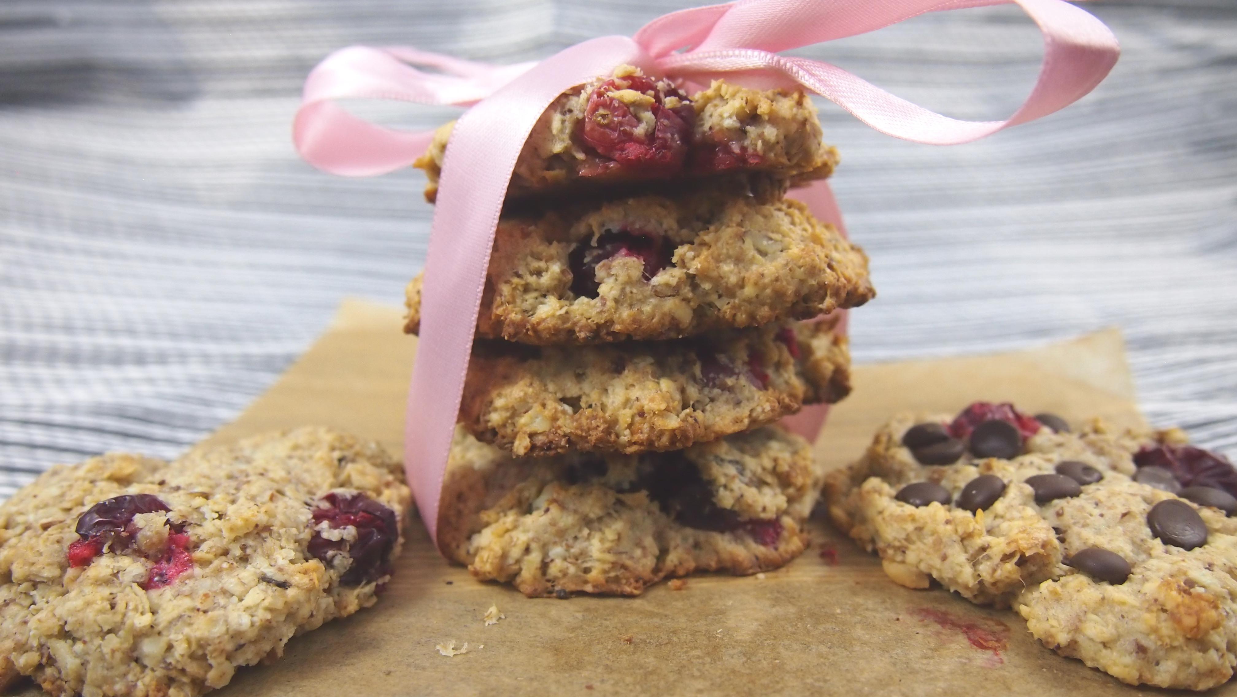 Cranberry Macadamia Cookies