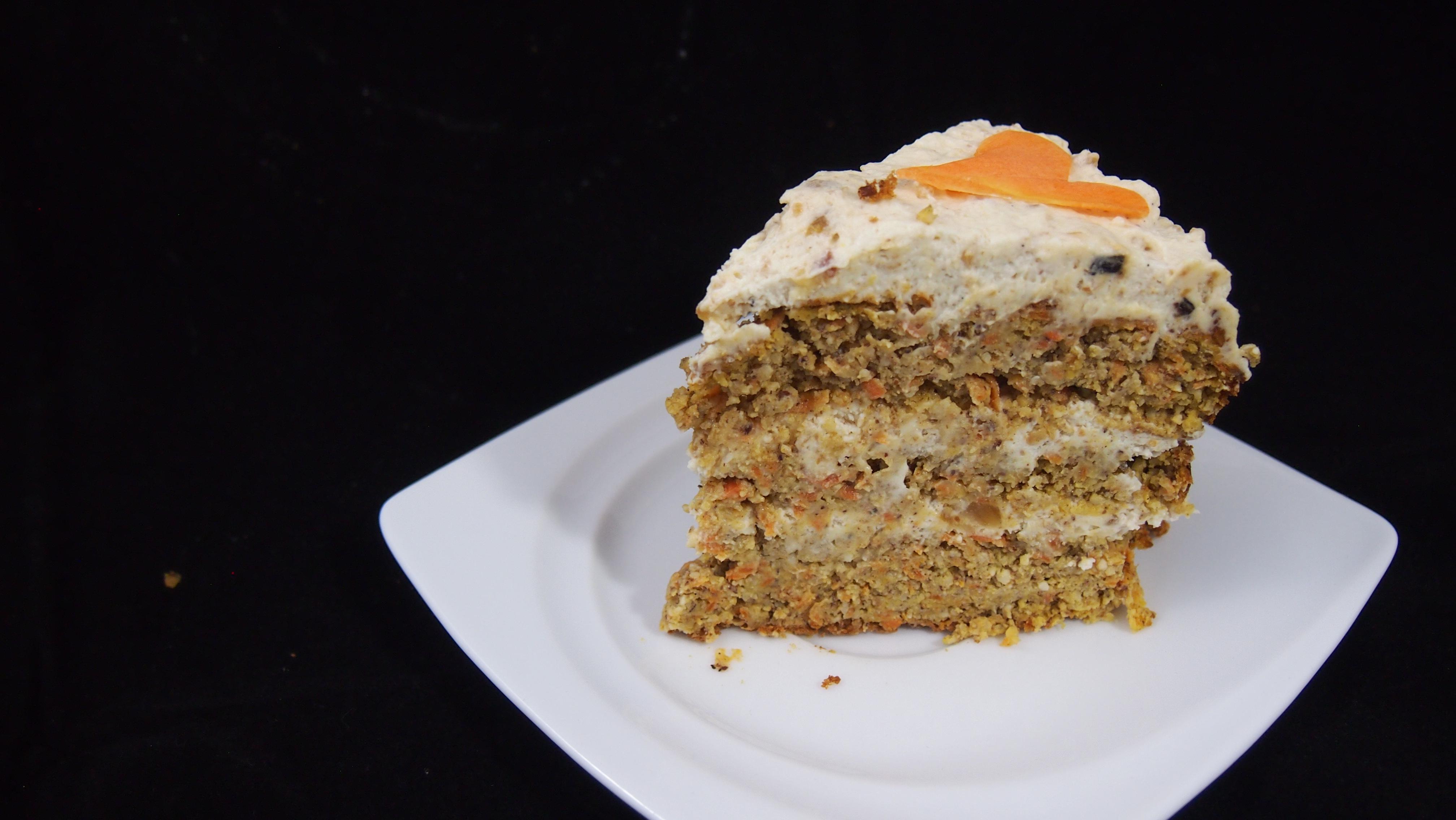 Gesunder Karottenkuchen