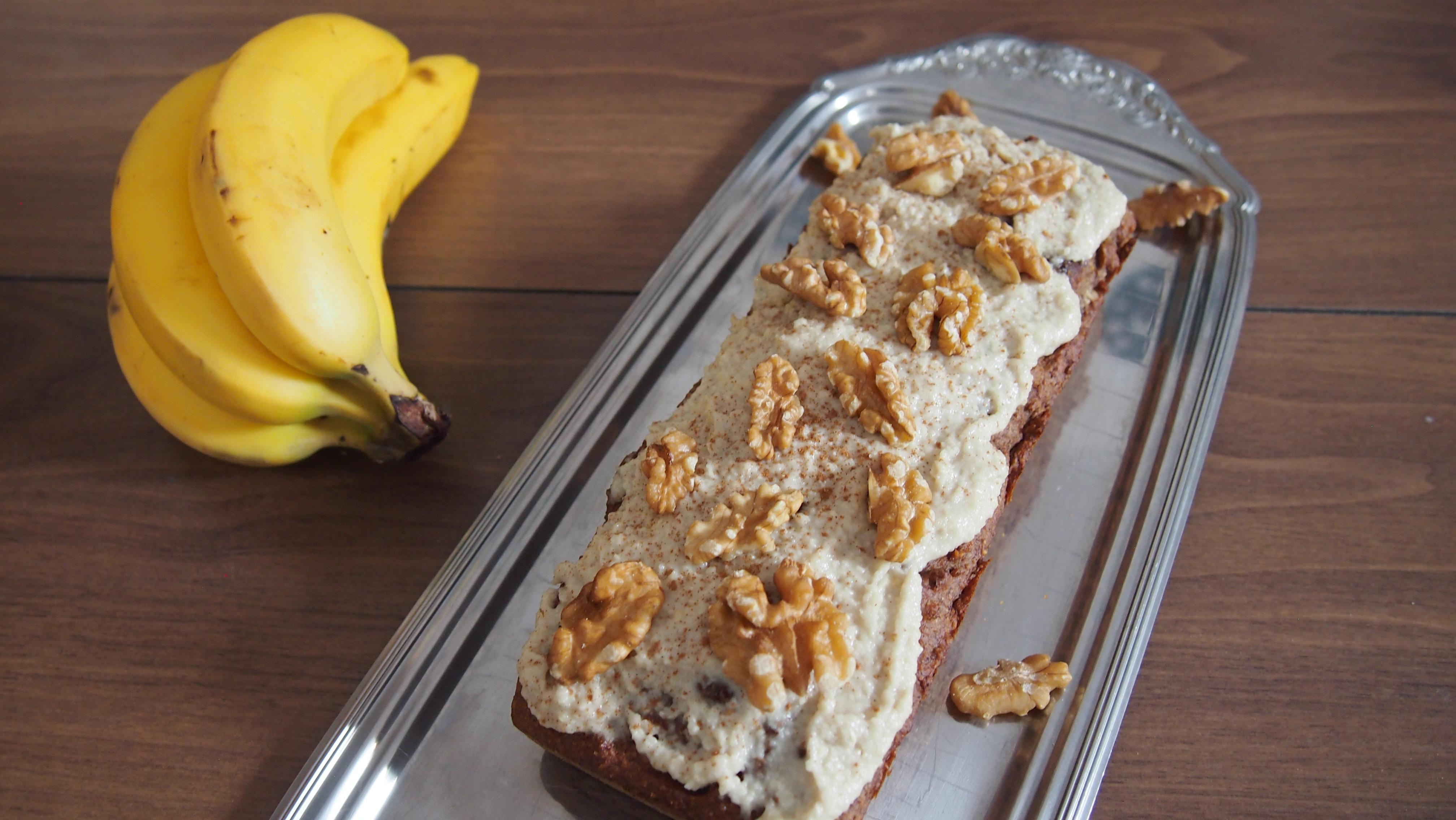 Bananenbrot mit Walnüssen