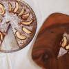 Quitten Schokoladentarte mit Maronenboden