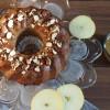 Zuckerfreier Apfelgugelhupf mit Apfelmuskern