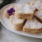 Kokos Schichtherzen mit Marmelade