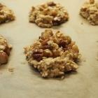 Bananen Nuss Cookies mit Haferflocken (vegan)