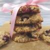 Gesunde Cranberry Macadamia Cookies