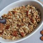 Lebkuchen Granola / Weihnachtsmüsli (vegan)