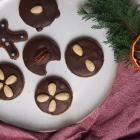 Weiche Lebkuchen ohne Zucker (vegan)