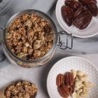 Knuspriges Granola ohne Öl (vegan)