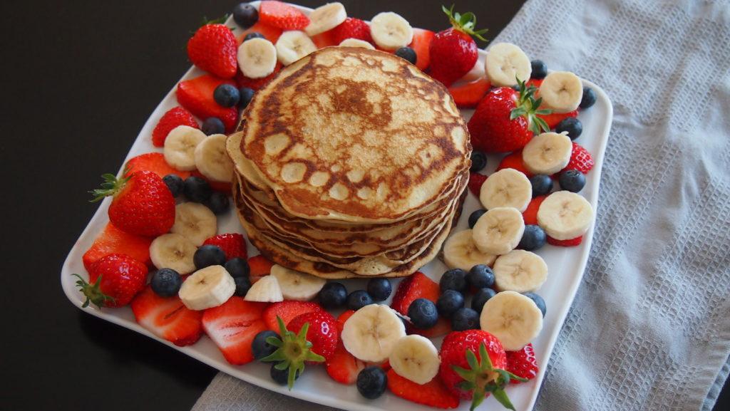 Bananen Vanille Pancakes