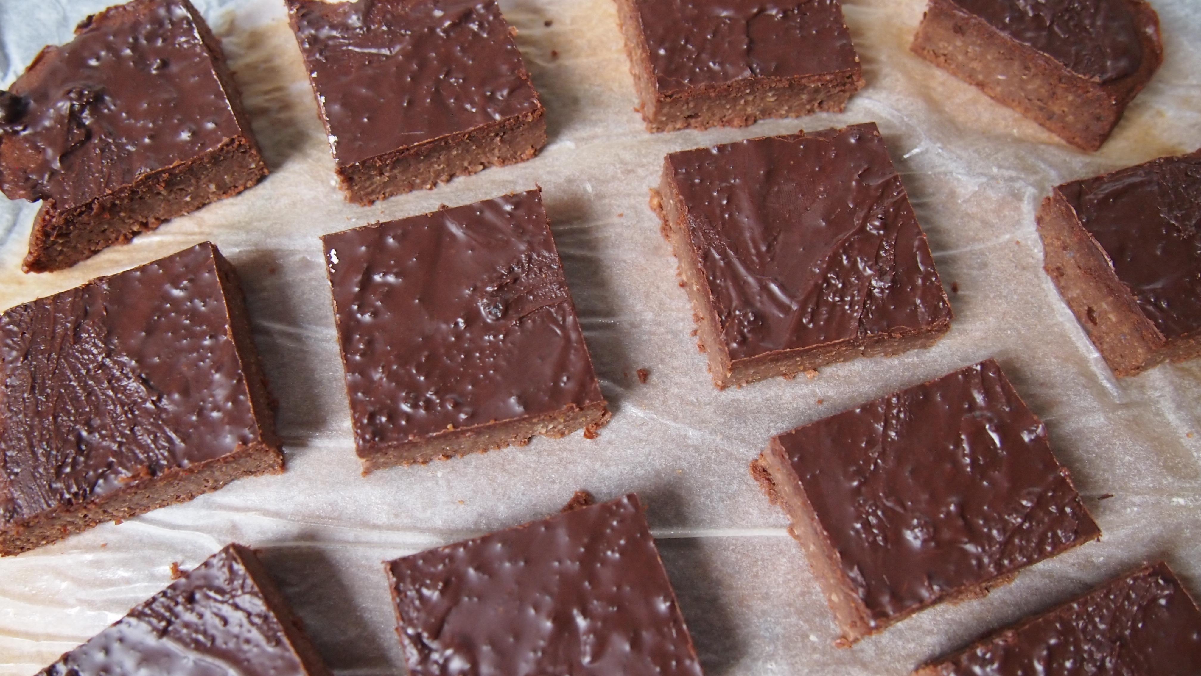 Super schokoladige Brownies ohne Zucker