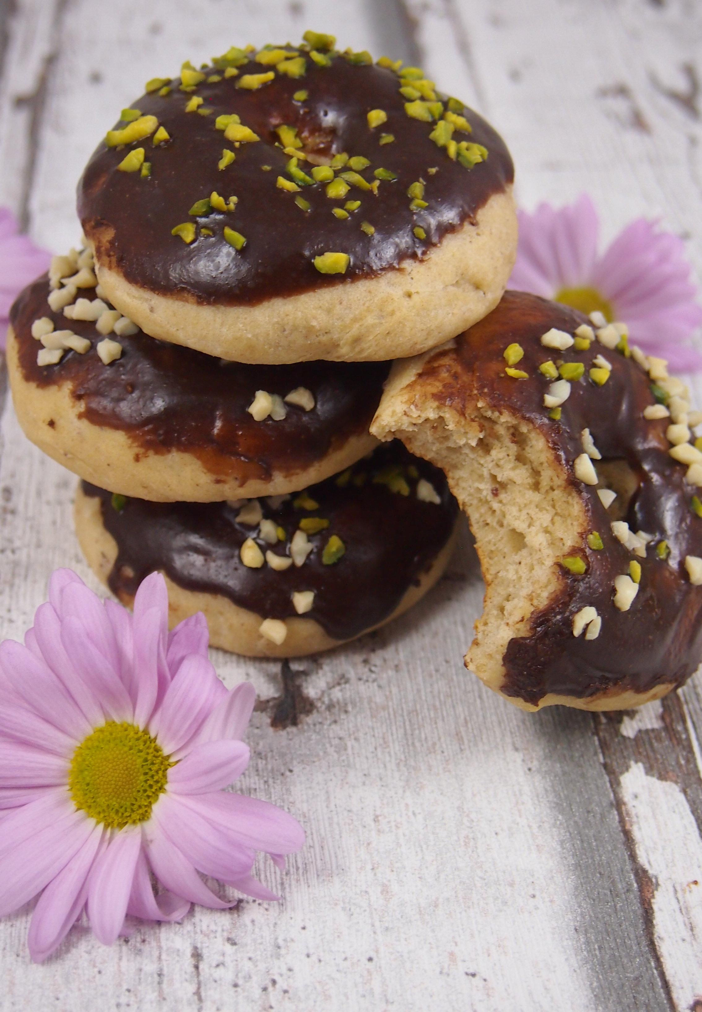 Gesunde Donuts aus dem Ofen